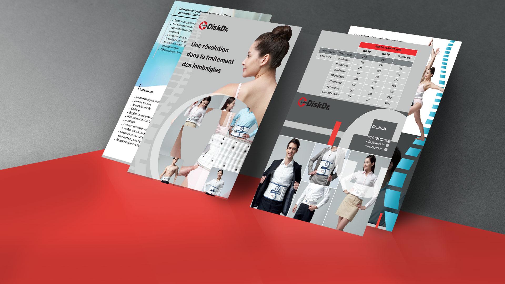 Pages aide à la vente Disk Dr