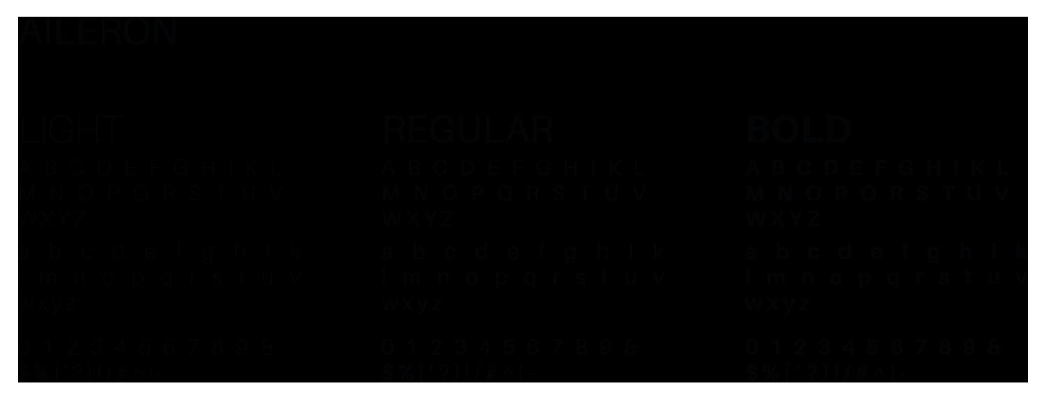 Font pour l'identité visuelle Fragstorm