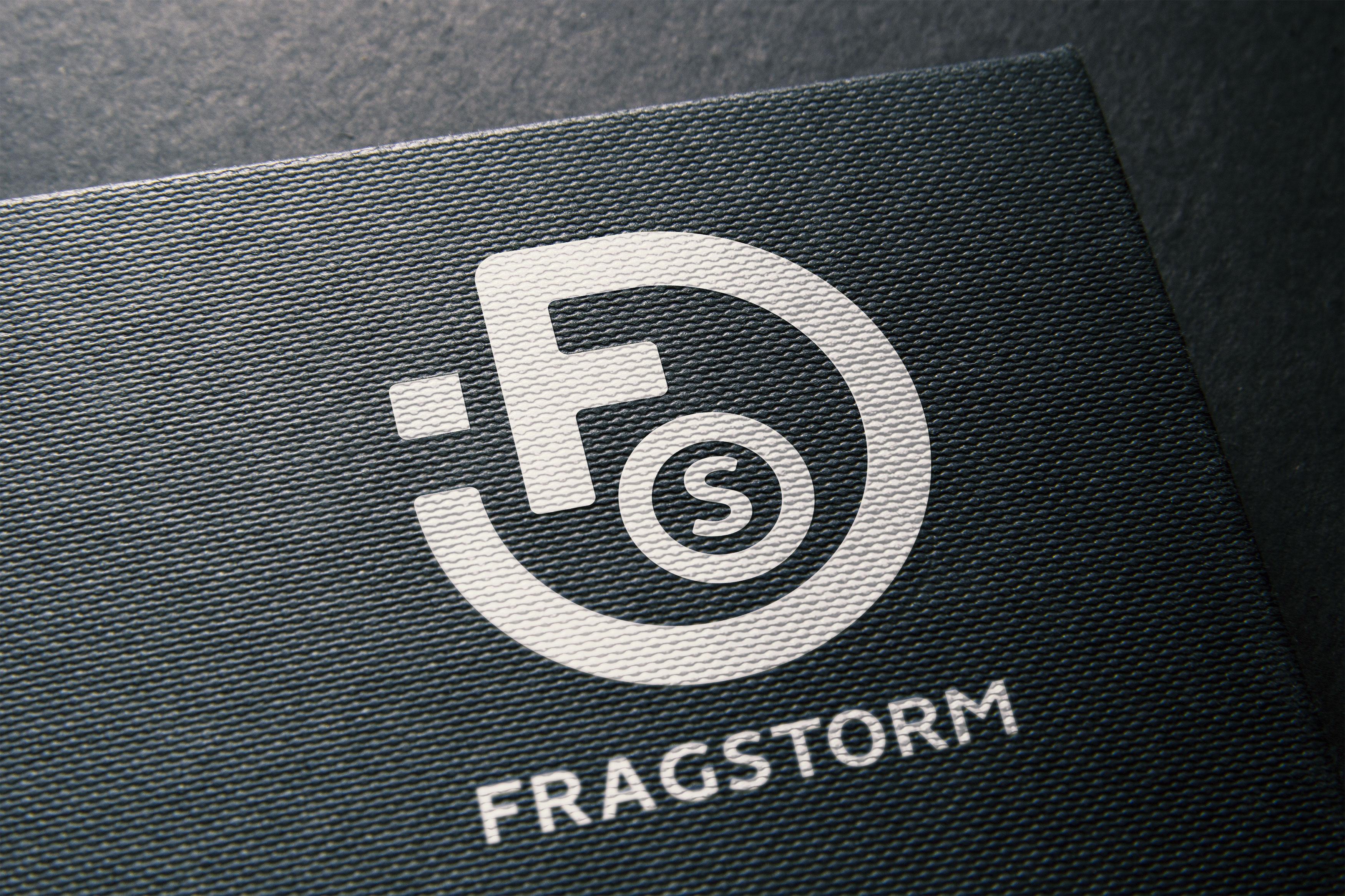 Logo Fragstorm texturé