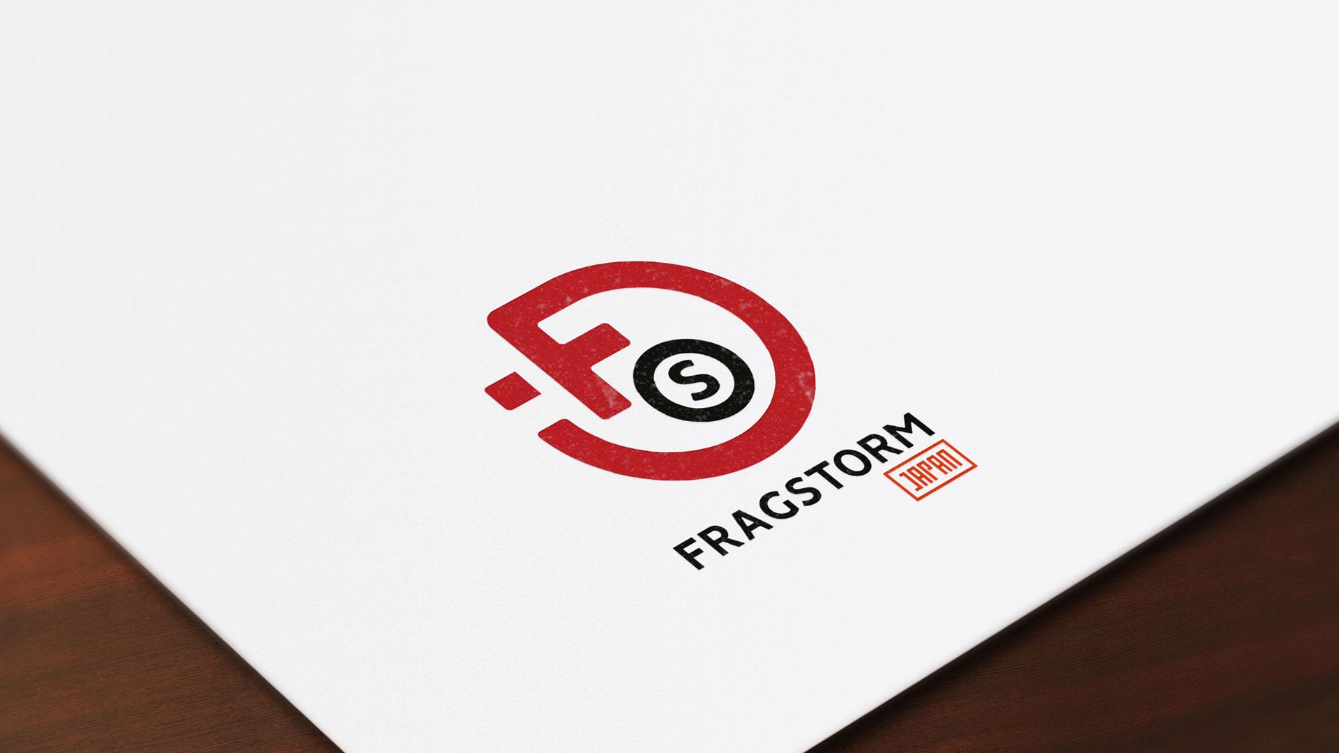 Papier en tête logotype Fragstorm Japon