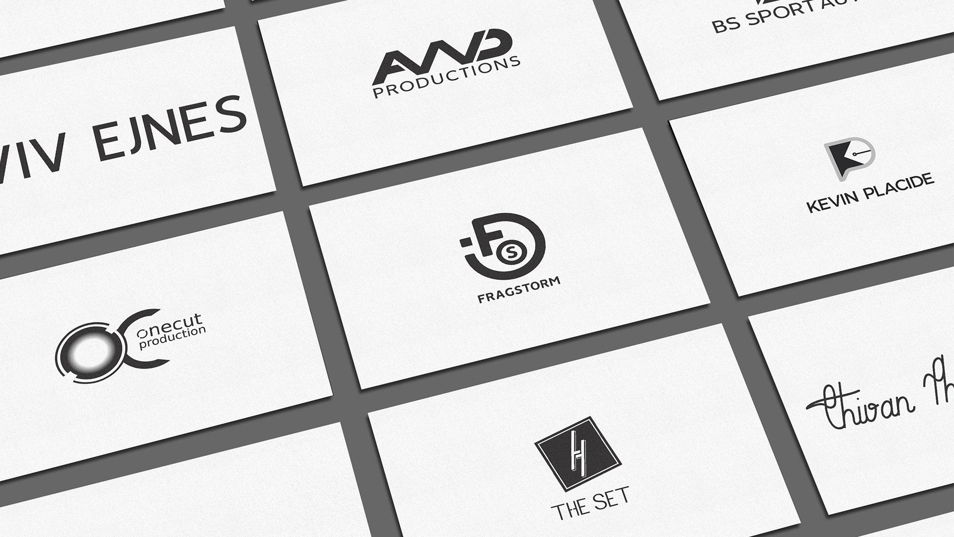 Logos de plusieurs marques