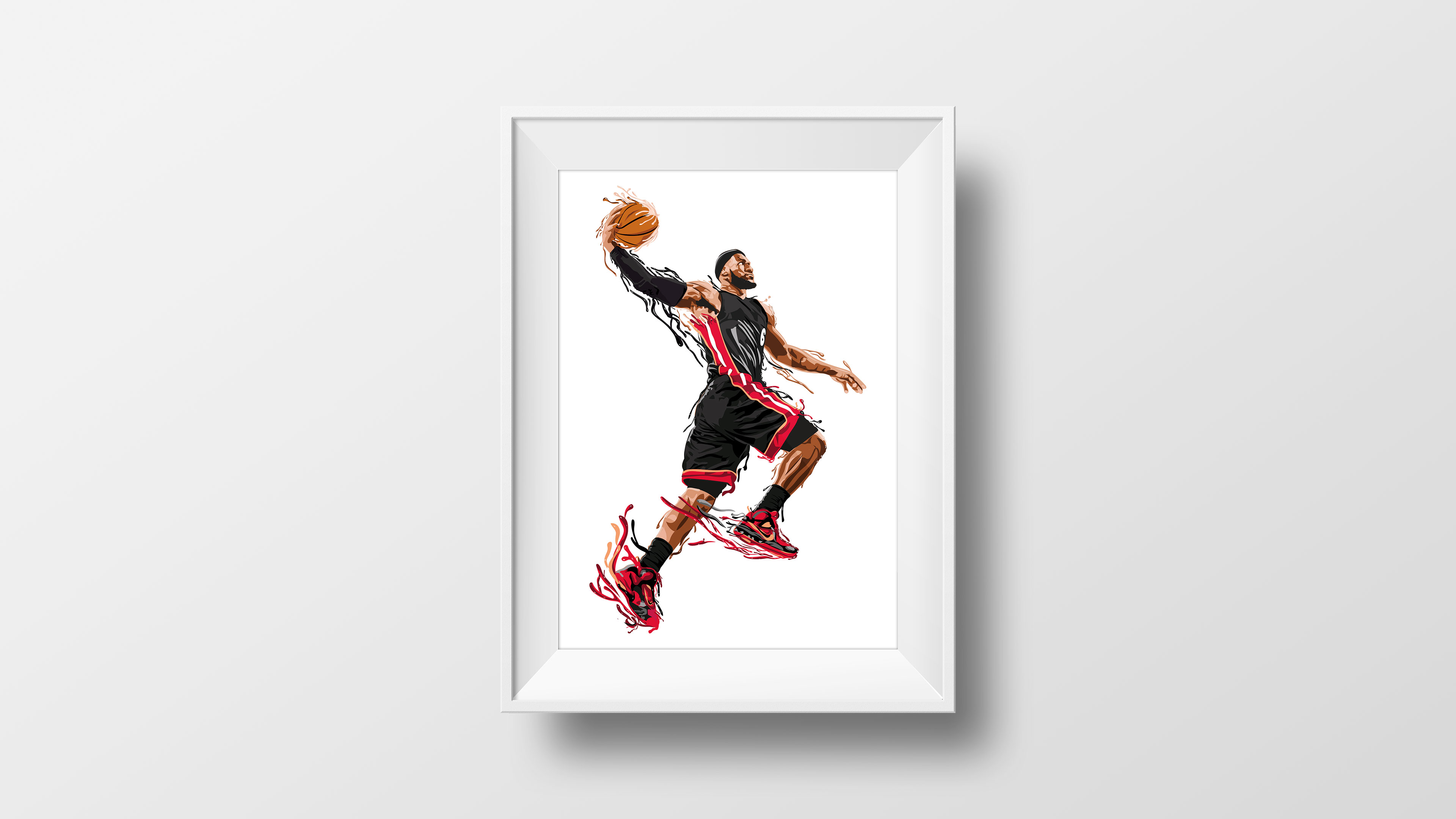 Illustration de Lebron James
