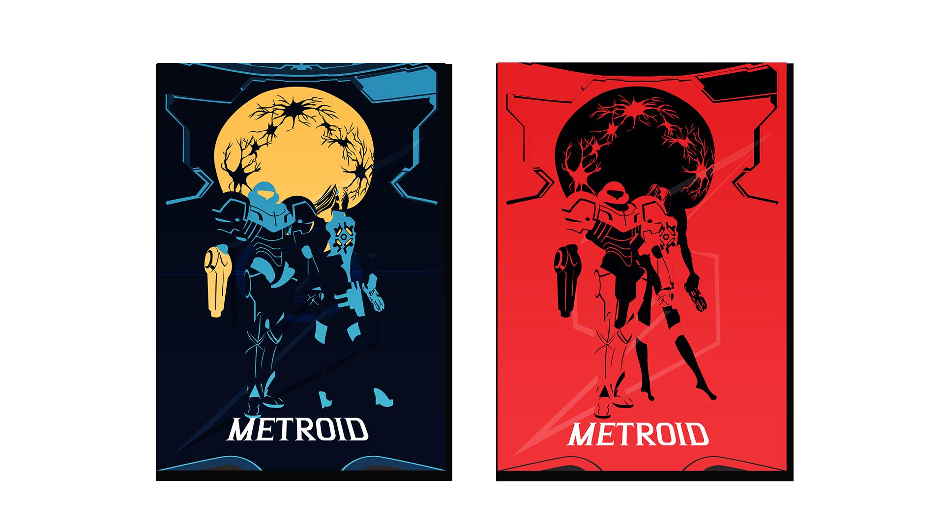 Posters Métroid
