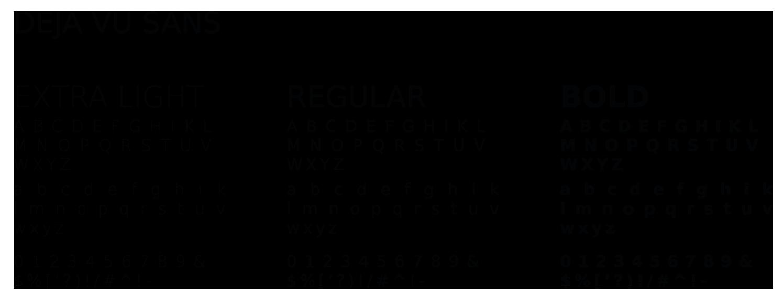 Polices pour le logo