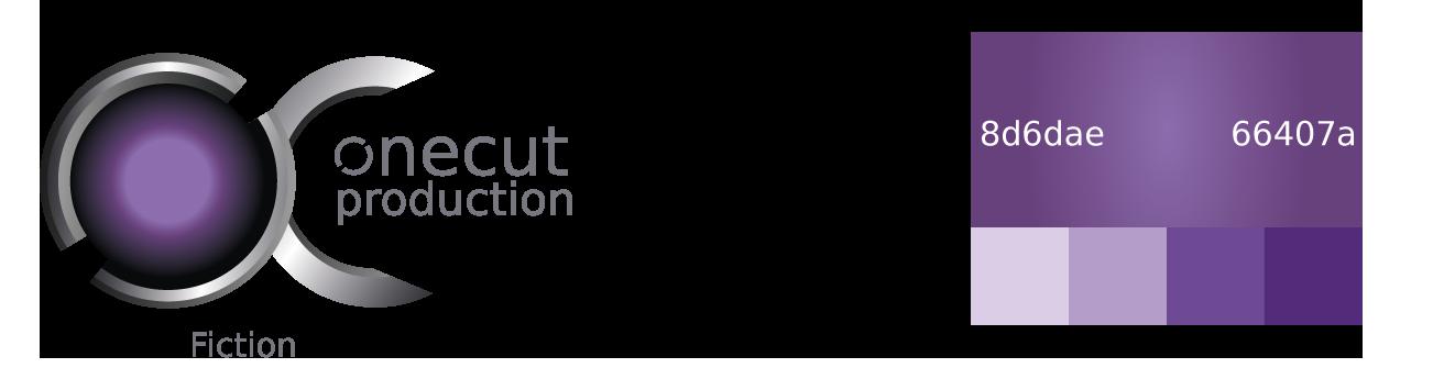 Logo fiction avec palette de couleurs