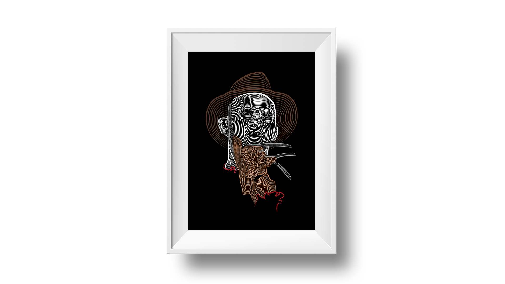 Poster Freddy Kruger - A Nightmare on Elm Street