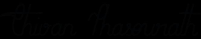 Logo blanc Thivan Consulting, conseillère en image