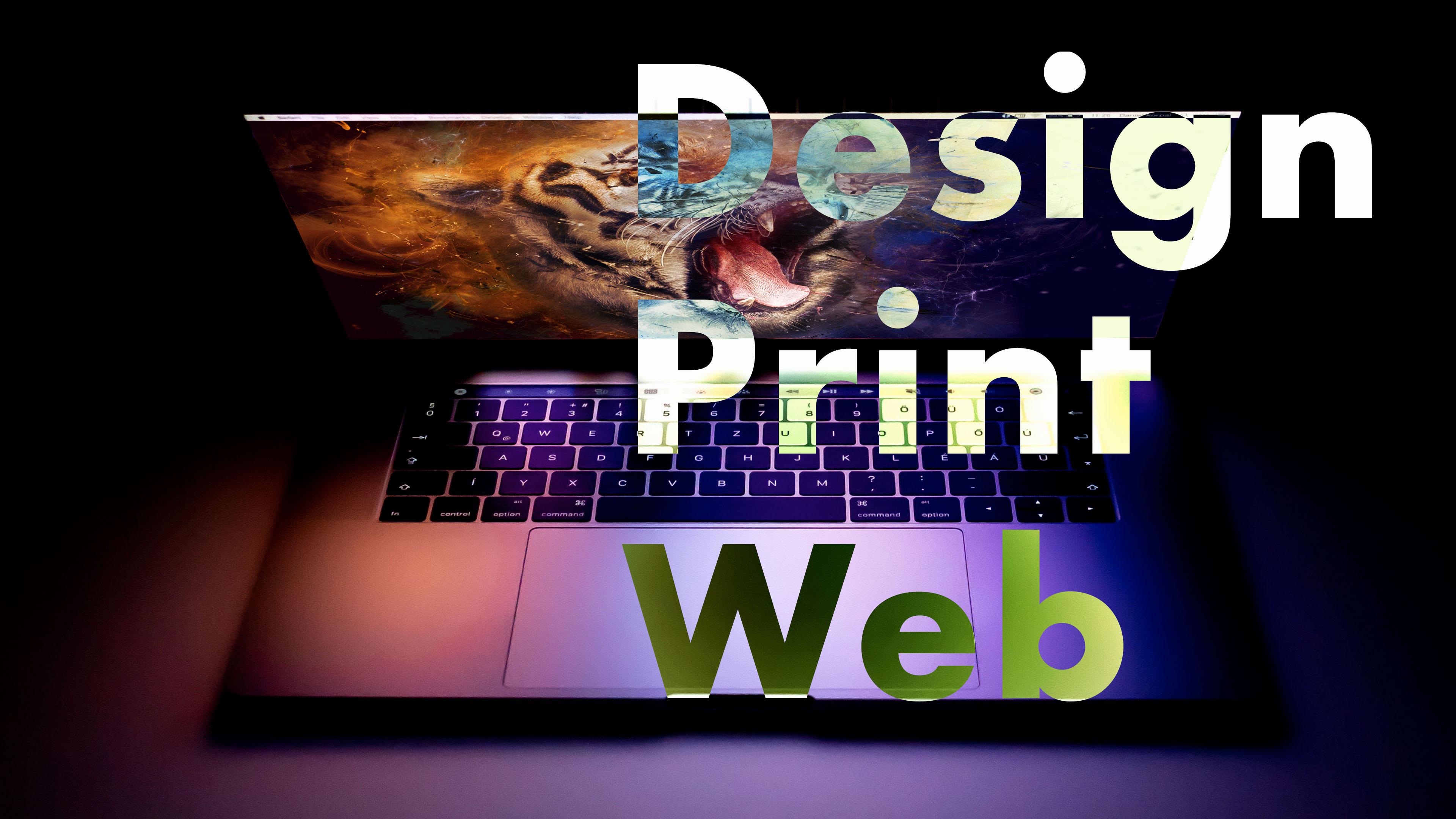 Fond d'écran macbook Design Print Web