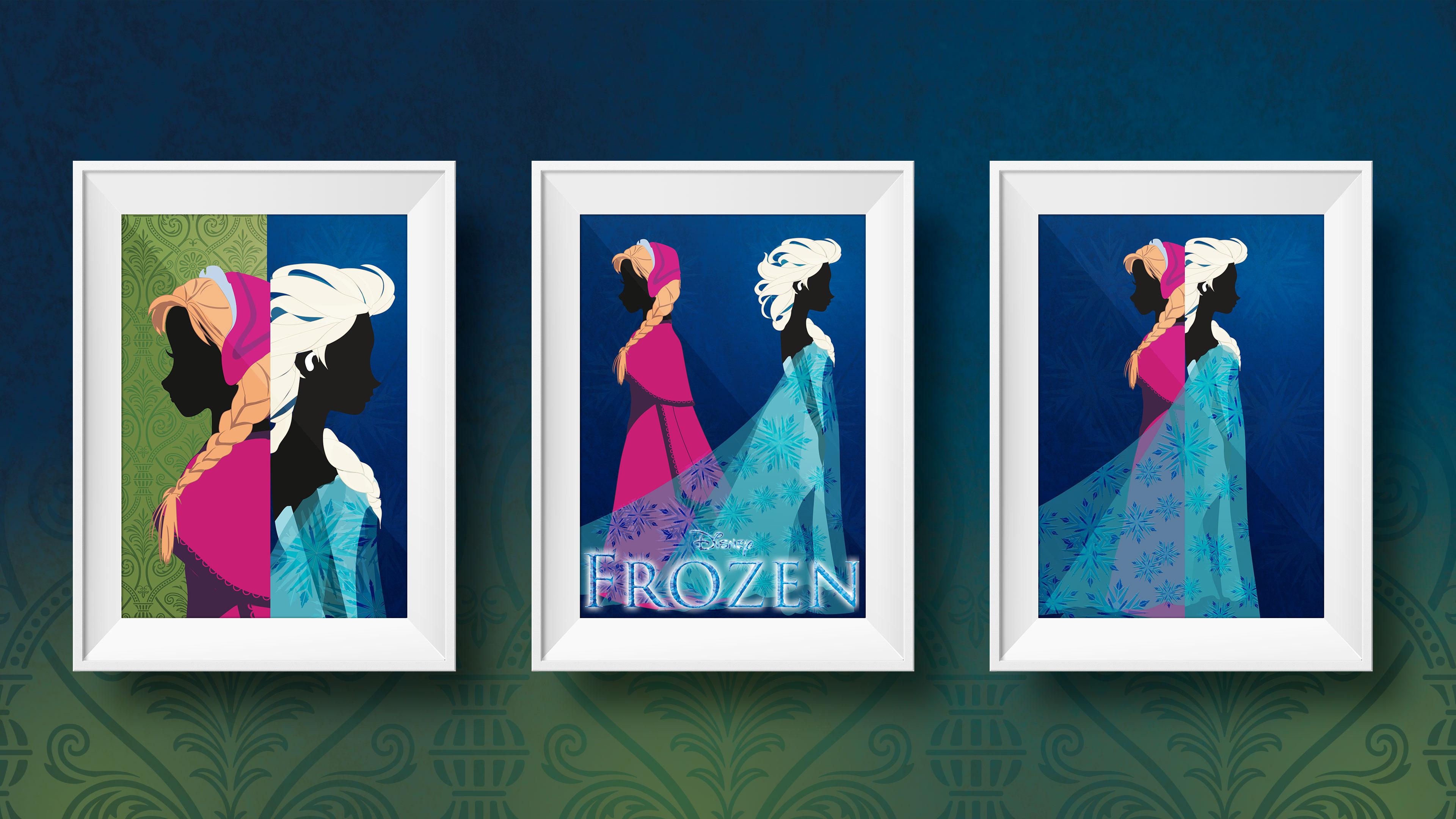 tableaux La reine des neiges