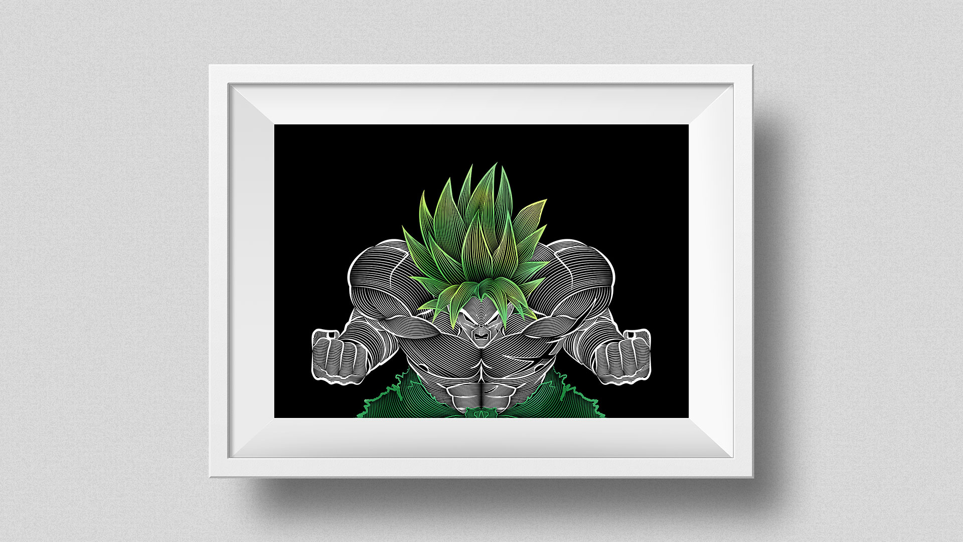 Illustration Dragon Ball Super Broly