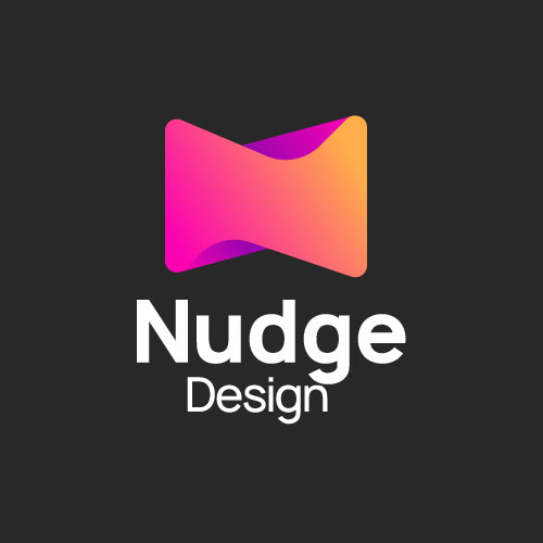 nudge_design_logo_couleur_fond_noir