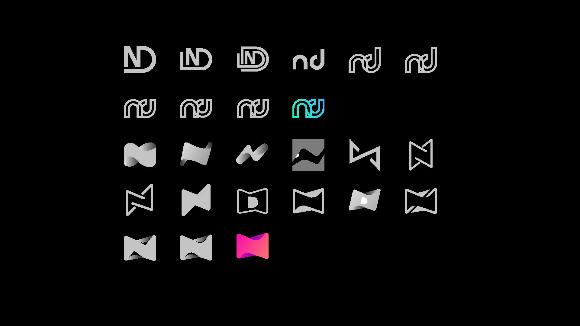 Couleurs utilisées pour le logo