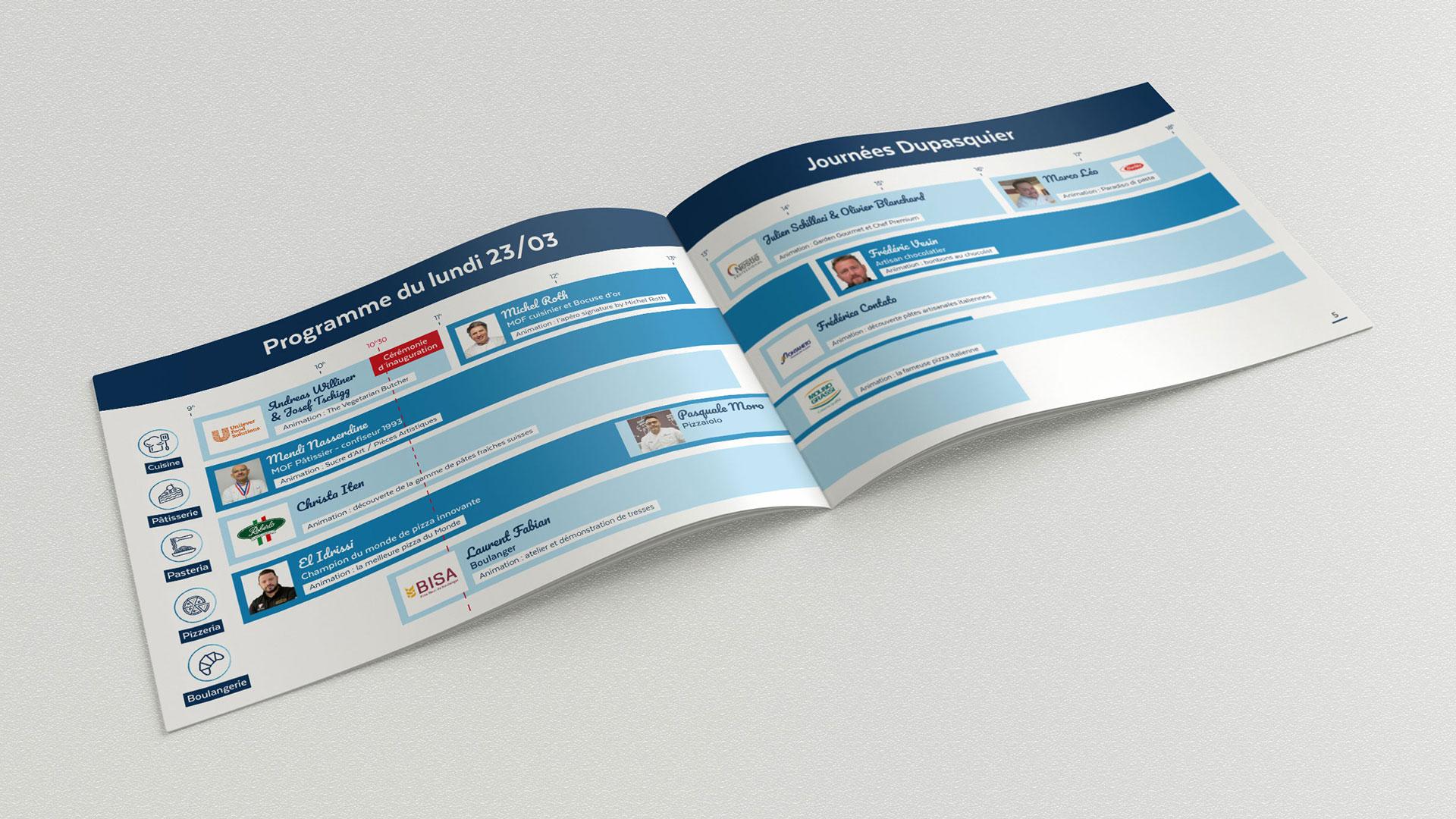 Magazine Dupasquier pages programme du lundi