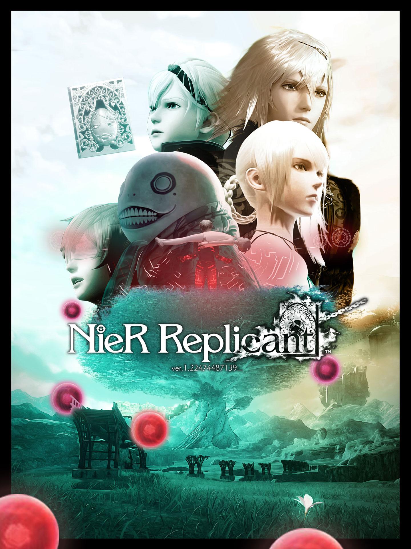 Nier_Replicant_affiche